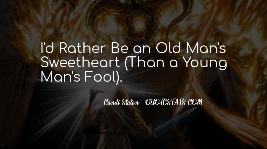 Old Man's Quotes #30107