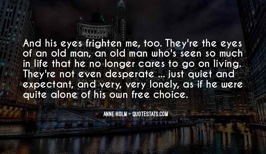 Old Man's Quotes #30917