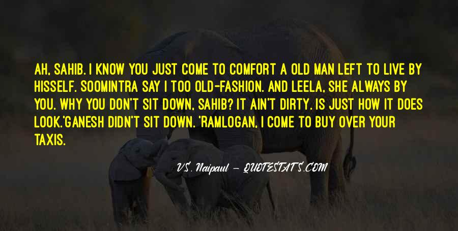 Old Man's Quotes #339870