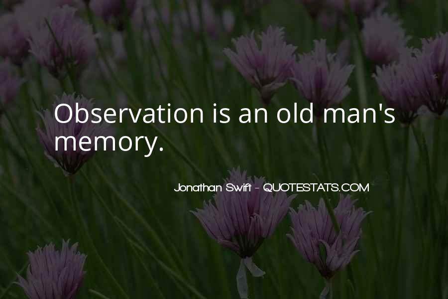 Old Man's Quotes #378491