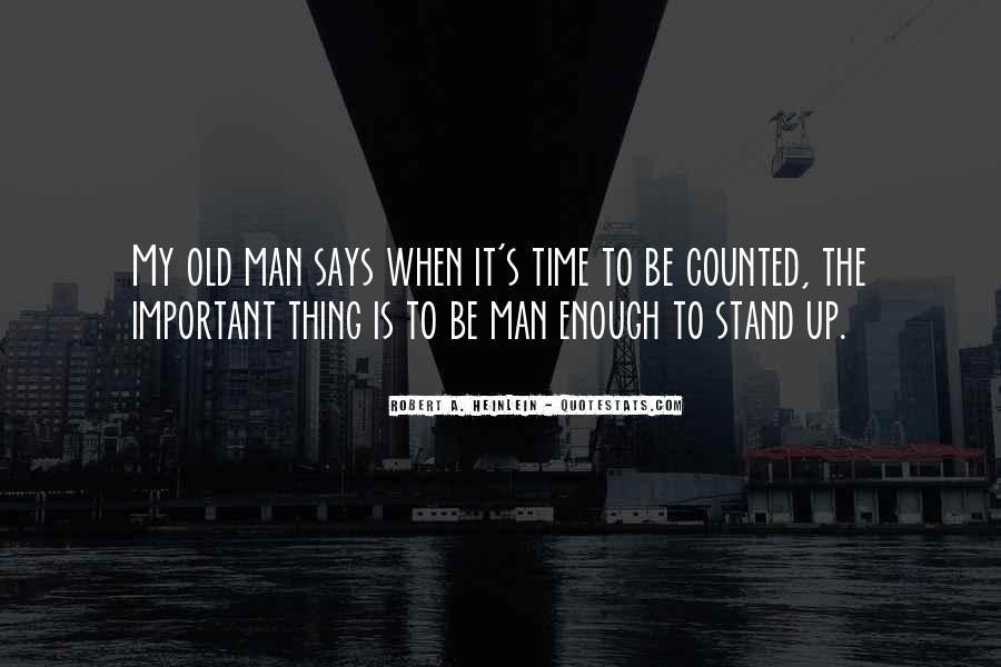 Old Man's Quotes #8783