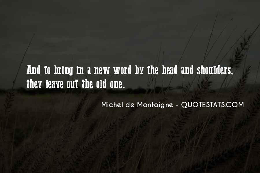 Old N New Quotes #29902