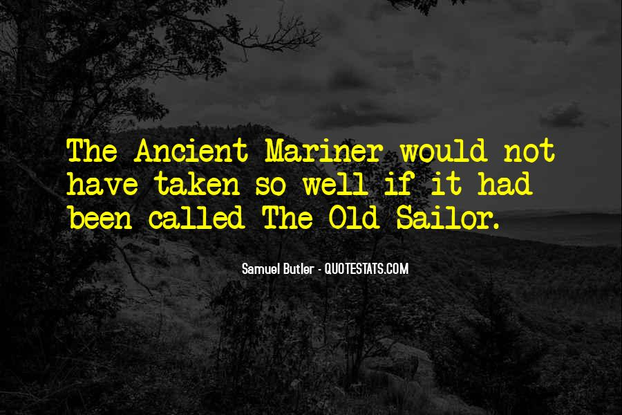 Old Sailor Quotes #1611736