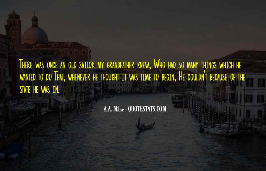 Old Sailor Quotes #1814664