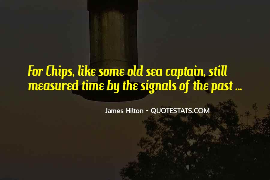 Old Sea Captain Quotes #1196105
