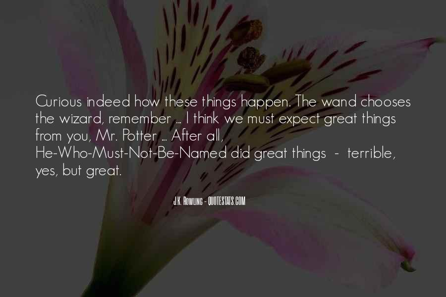 Ollivander Wand Quotes #1745517