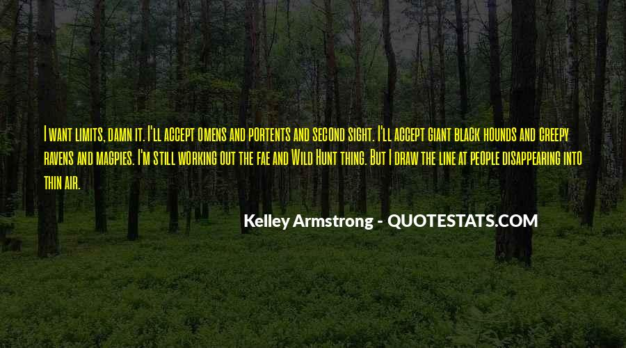 Omens Kelley Armstrong Quotes #1100171