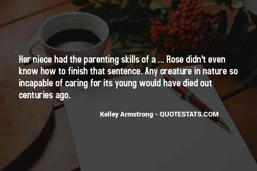 Omens Kelley Armstrong Quotes #353212