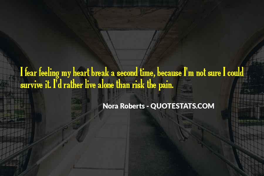 Quotes About Break Up Pain #25233