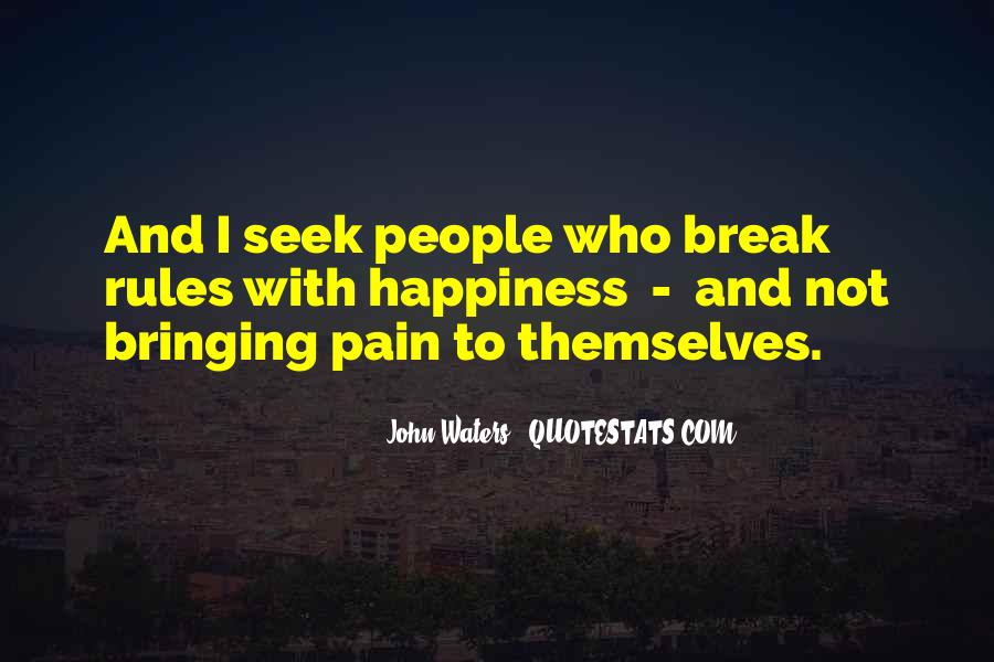 Quotes About Break Up Pain #539457
