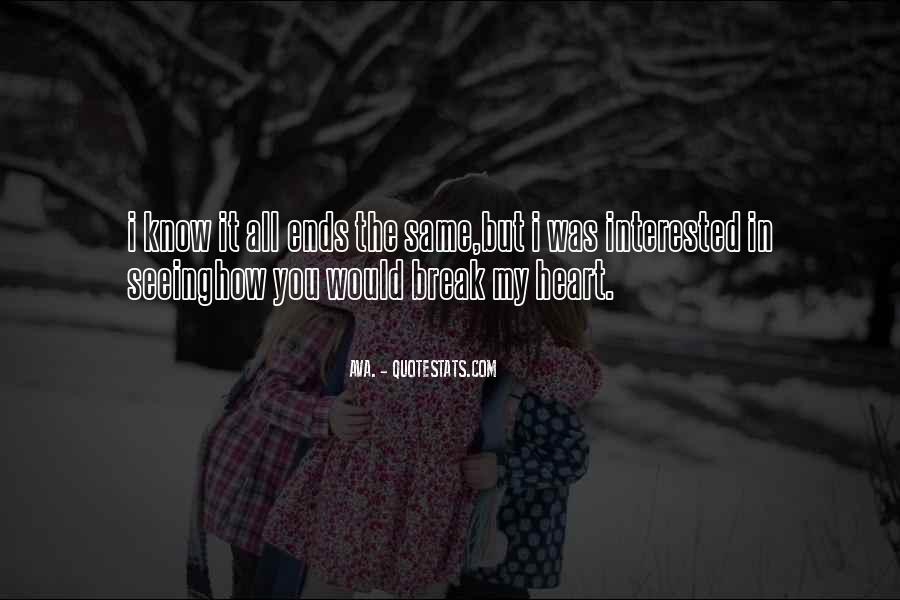 Quotes About Break Up Love #191495