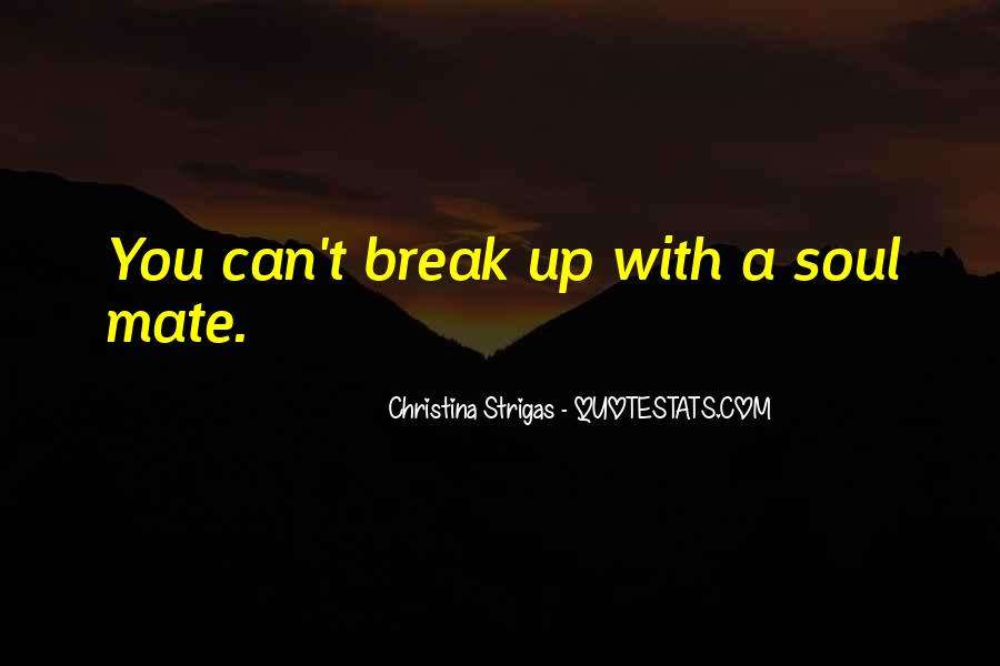 Quotes About Break Up Love #672848