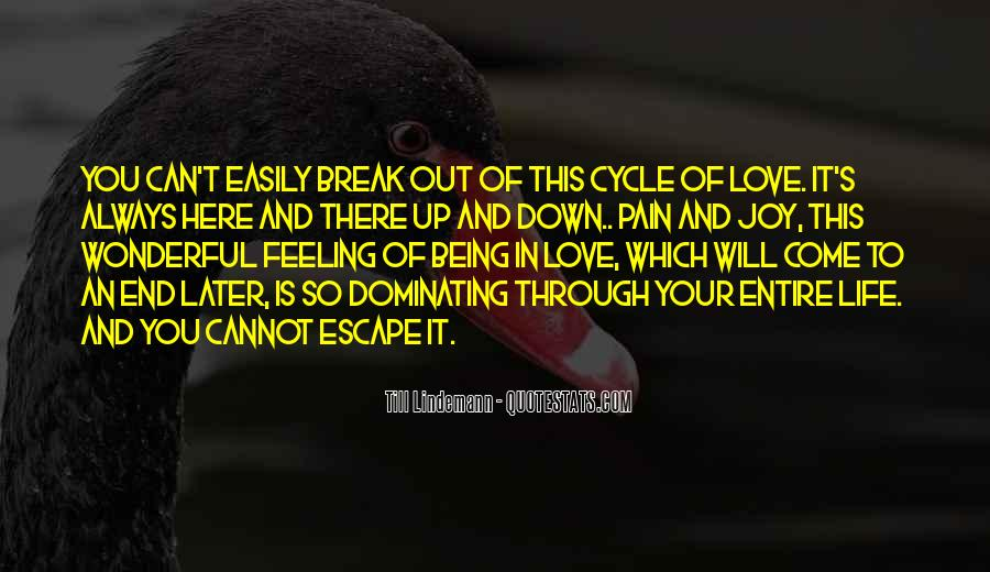 Quotes About Break Up Love #87222