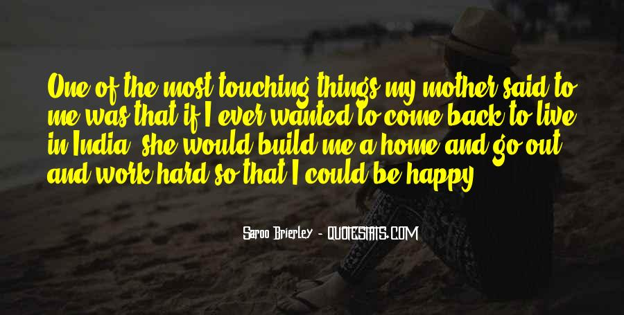 On My Way Back Home Quotes #13497
