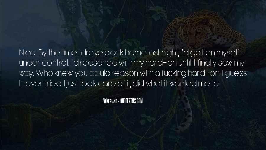 On My Way Back Home Quotes #1757132