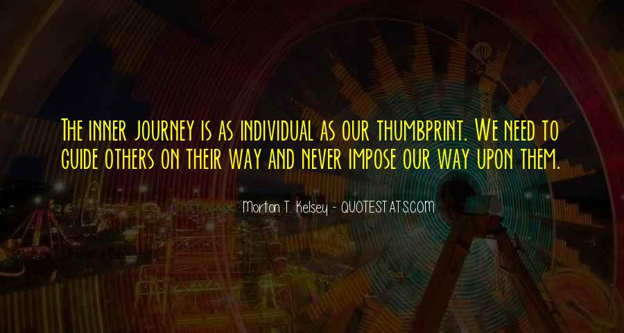 On The Journey Quotes #44006