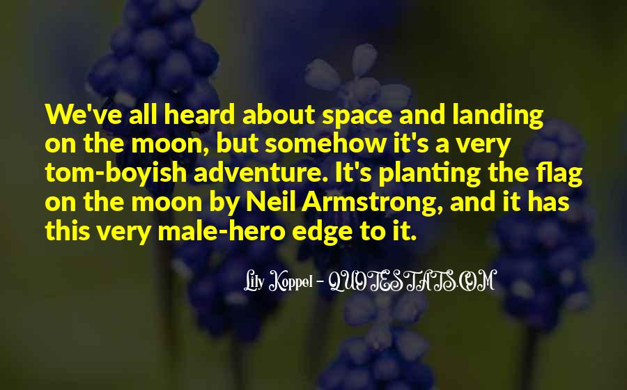 On The Moon Quotes #44865