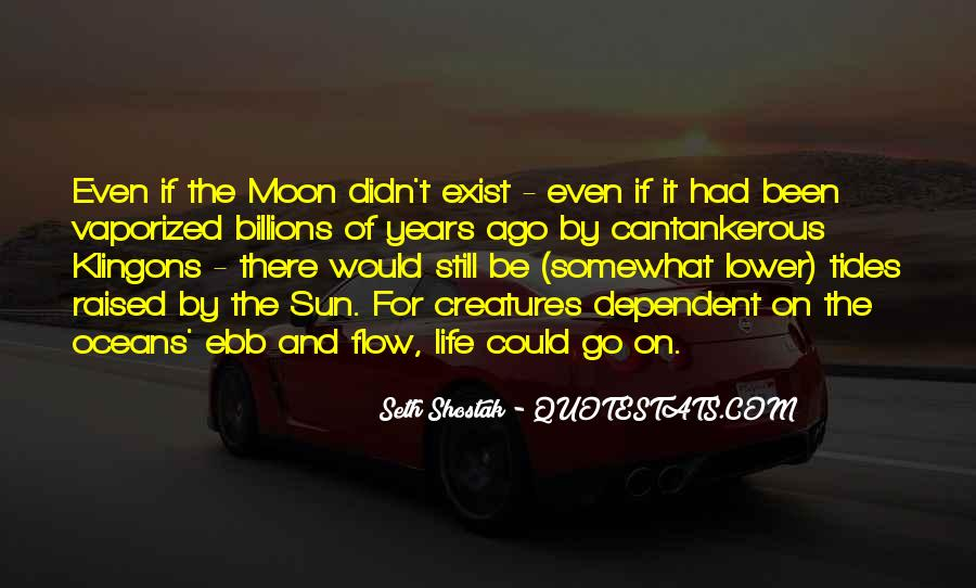 On The Moon Quotes #45657