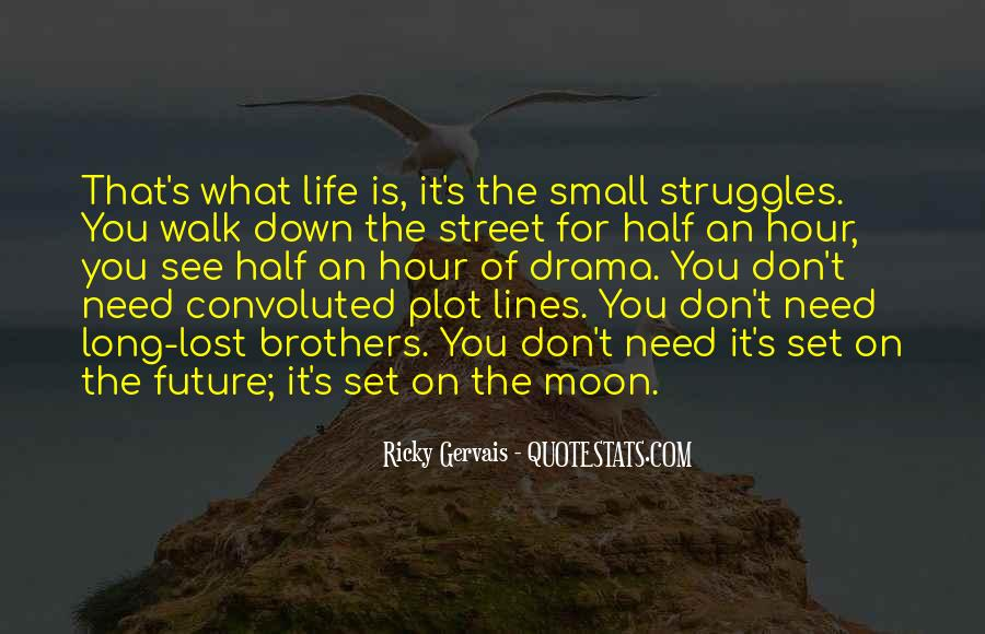 On The Moon Quotes #55587