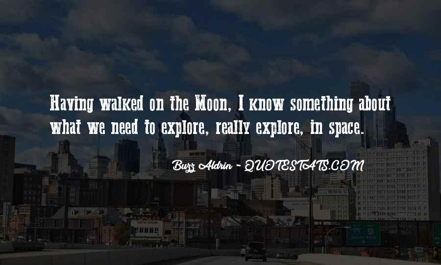 On The Moon Quotes #84318