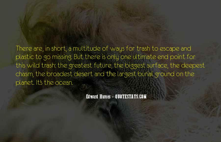 On The Ocean Quotes #139541