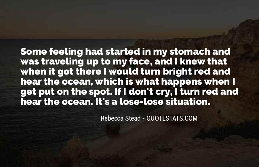 On The Ocean Quotes #159658