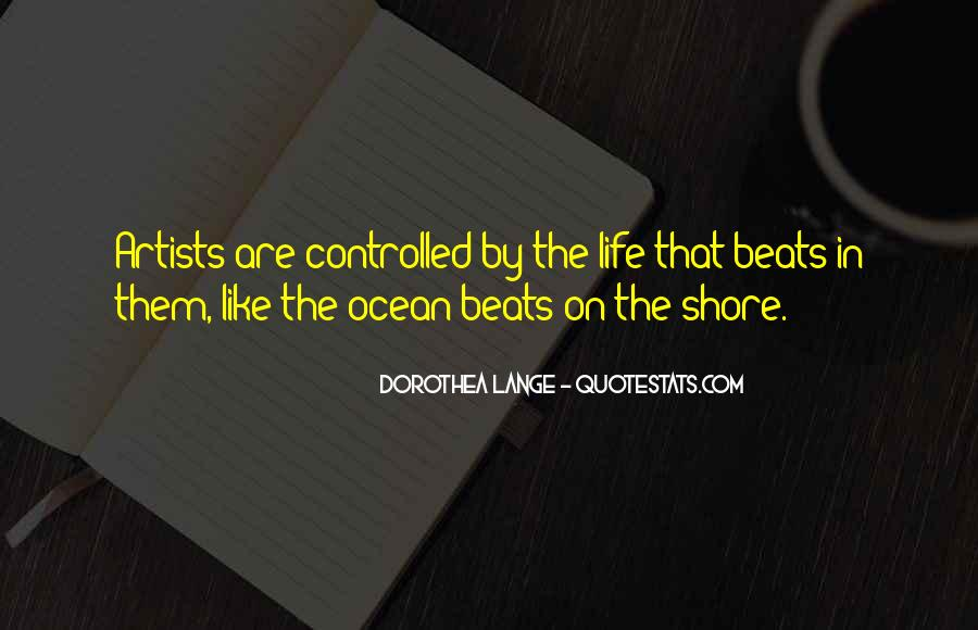 On The Ocean Quotes #165205