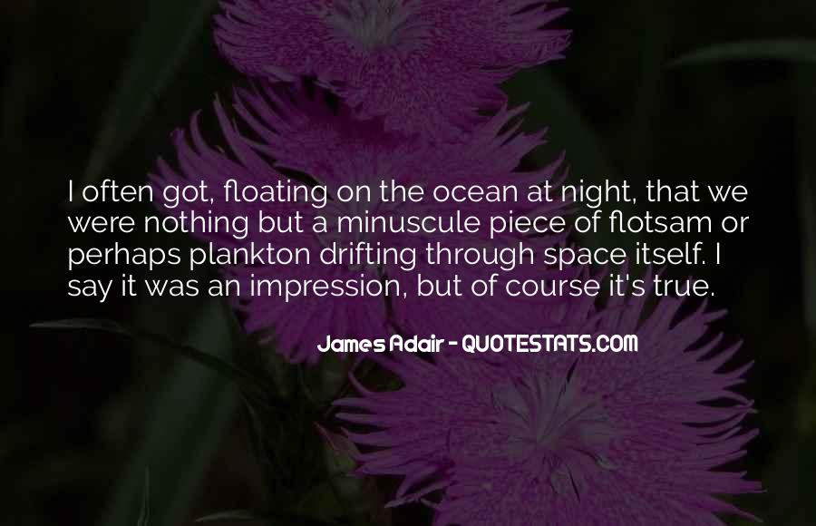 On The Ocean Quotes #168244