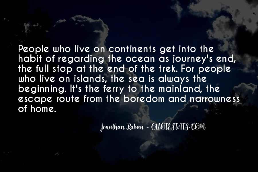 On The Ocean Quotes #171360