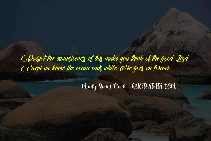 On The Ocean Quotes #17869