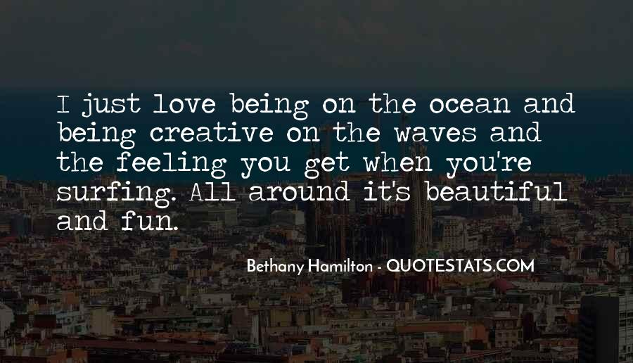 On The Ocean Quotes #181232