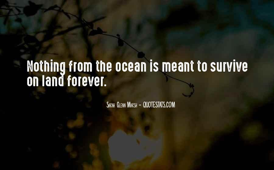 On The Ocean Quotes #226