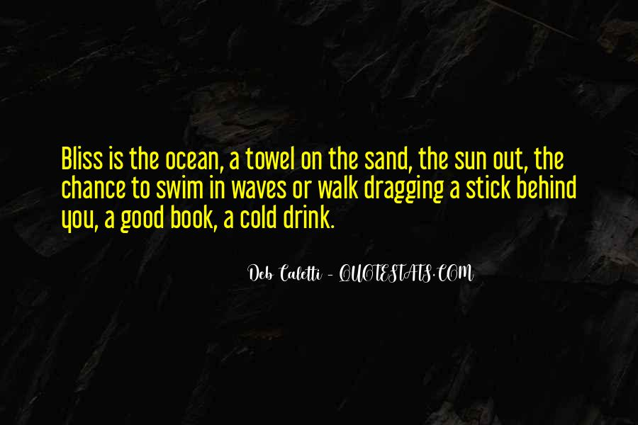 On The Ocean Quotes #28039
