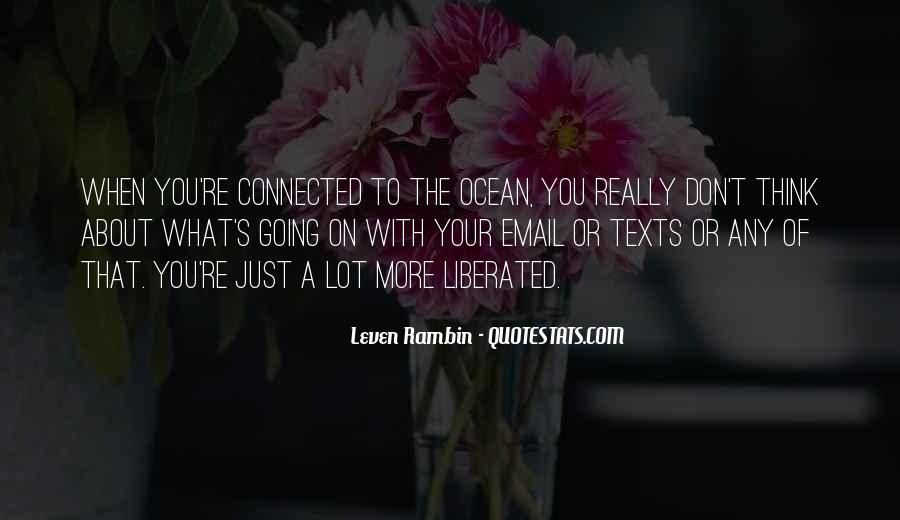 On The Ocean Quotes #329990