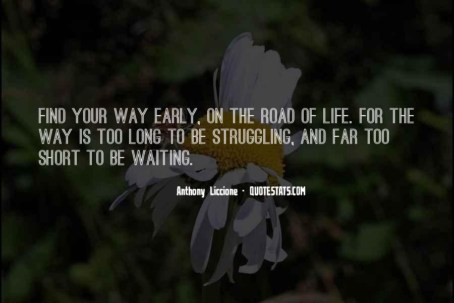 On The Road And Quotes #31638