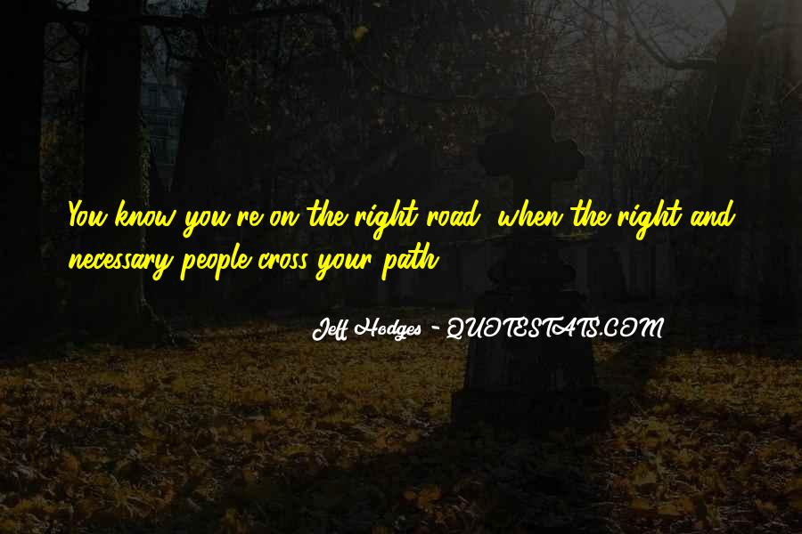 On The Road And Quotes #6613