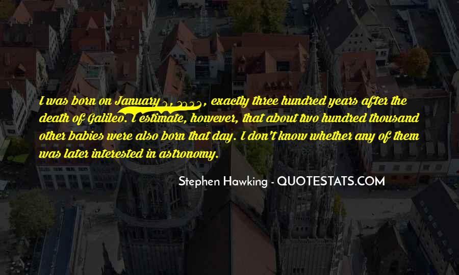 On This Day You Were Born Quotes #81407