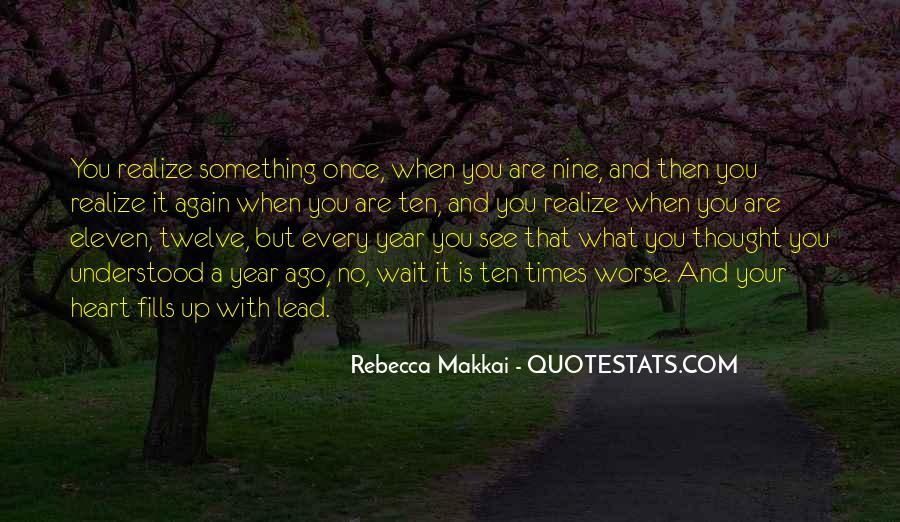 Once A Year Quotes #217794