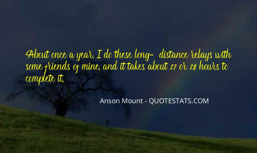 Once A Year Quotes #219998