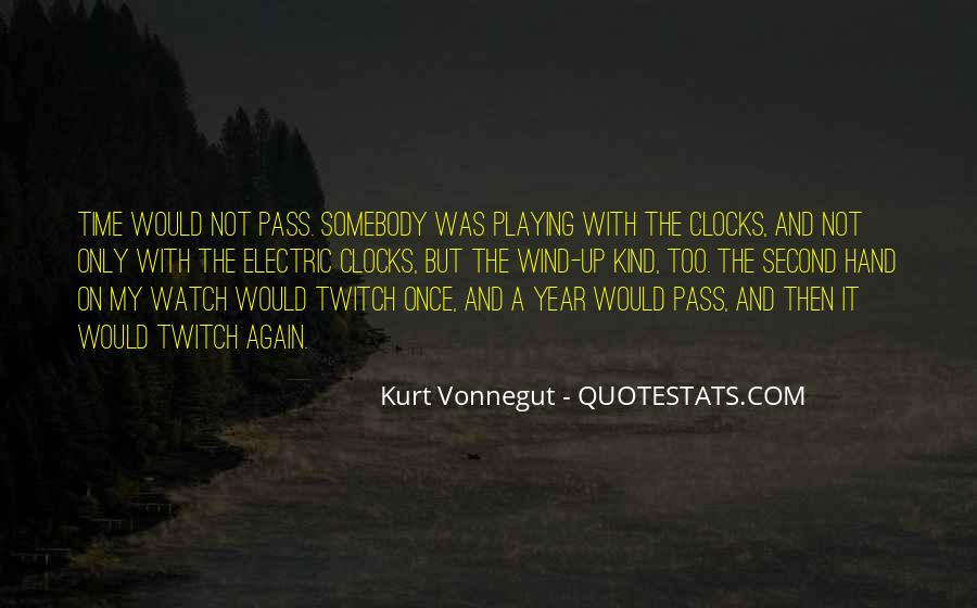 Once A Year Quotes #441392