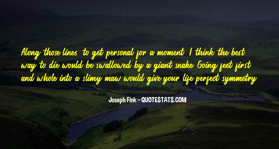 Once I Give Up Quotes #3065