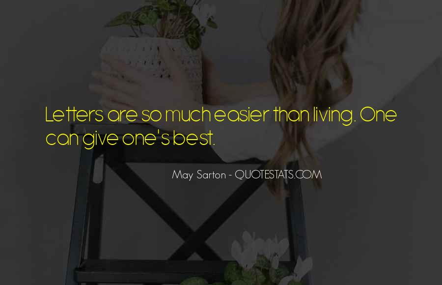 Once I Give Up Quotes #5435