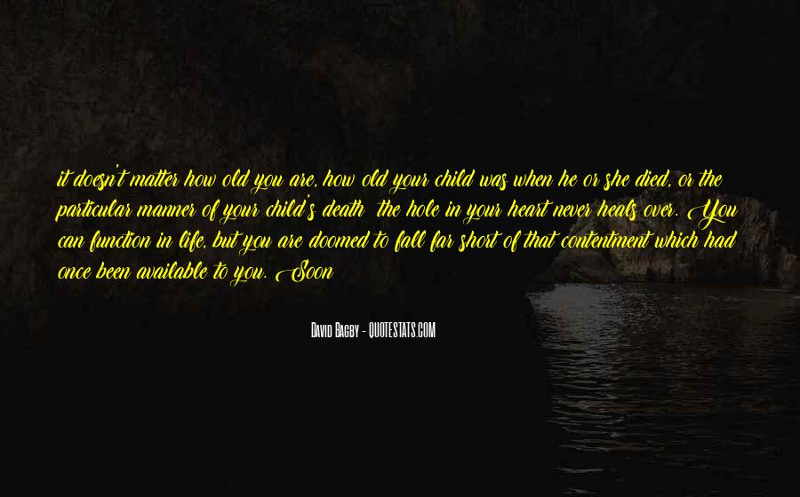 Once In Your Life Quotes #374846