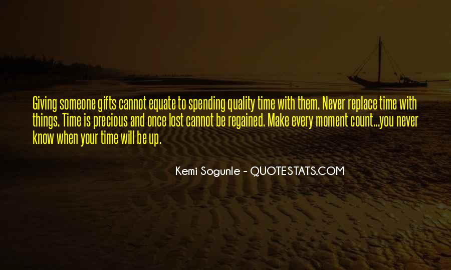 Once In Your Life Quotes #850260