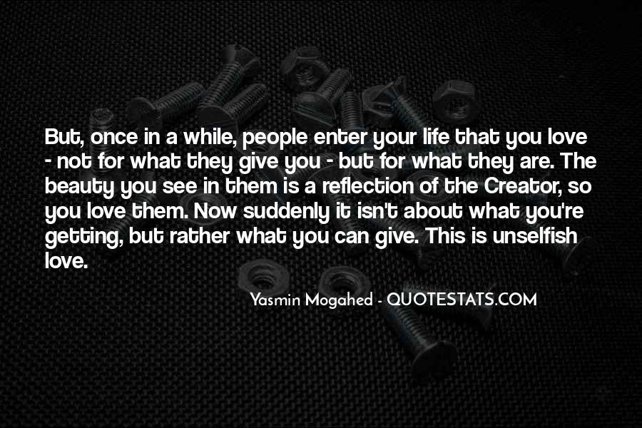 Once In Your Life Quotes #856951