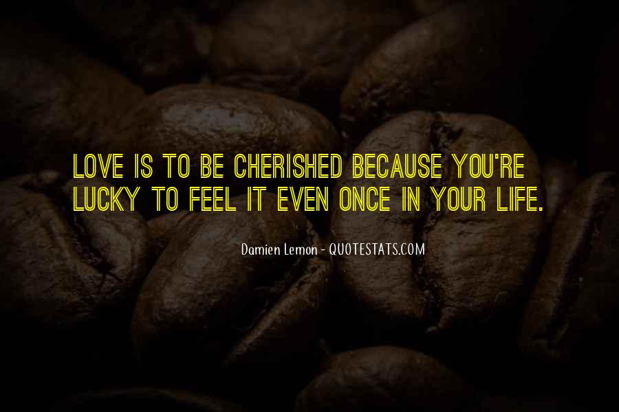 Once In Your Life Quotes #857600