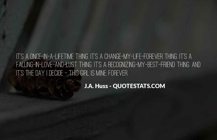 Once Lifetime Friend Quotes #1701290