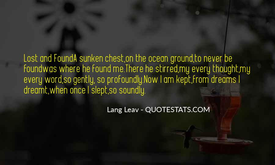 Once There Was A Love Quotes #1012855