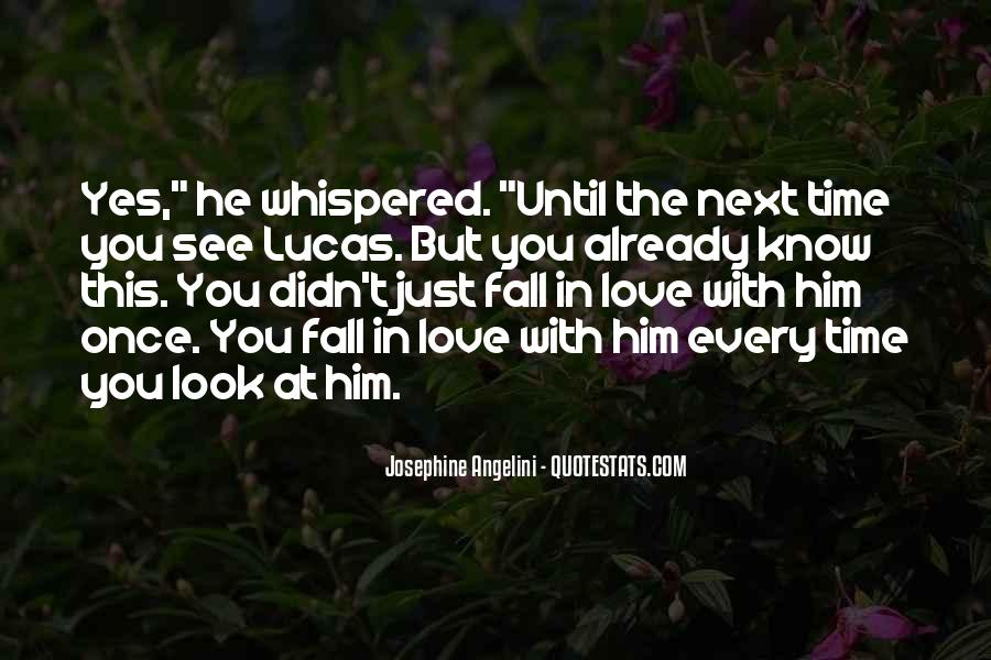 Once You Fall In Love Quotes #1038560