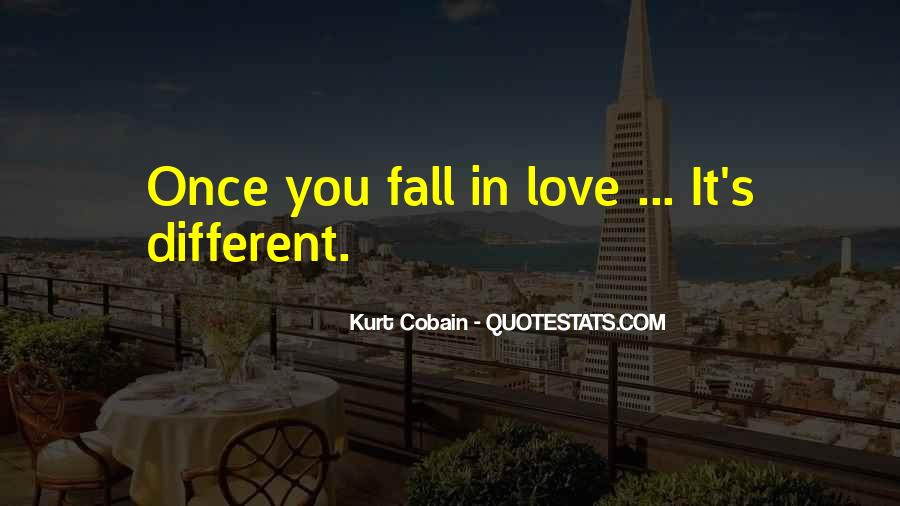 Once You Fall In Love Quotes #1082141